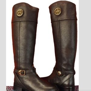 Tory Burch Leather Teresa Riding Boot